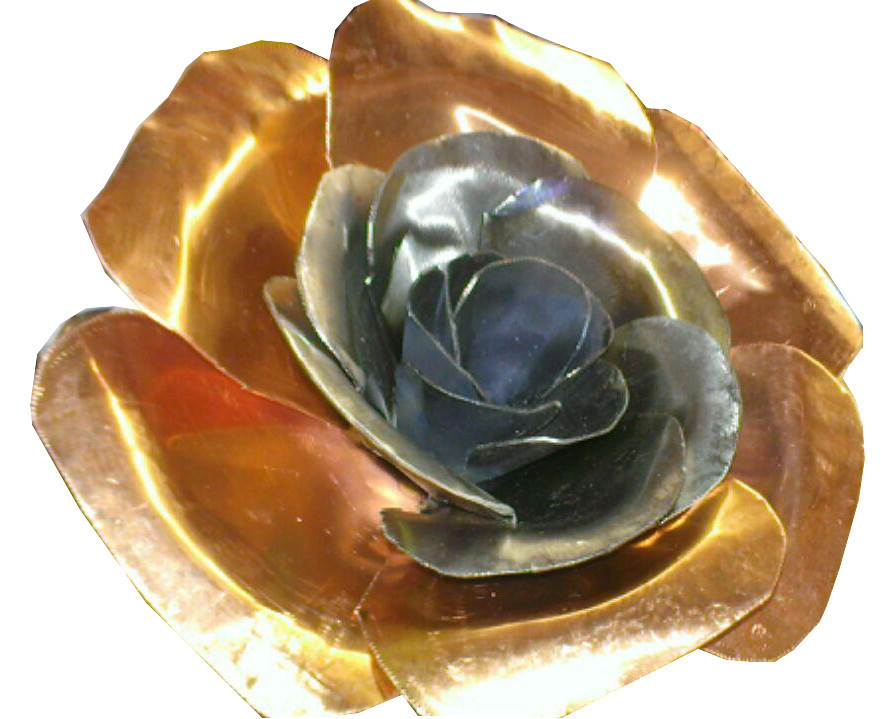 Metal Flower Creation Catalogue | Hydro-Cut | Metal Art